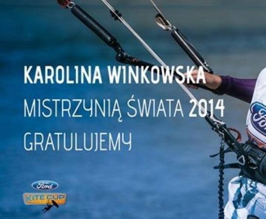 Karolina Winkowska mistrzynią świata