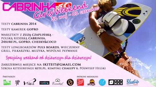 Pierwszy w Polsce Cabrinha Girls Weekend